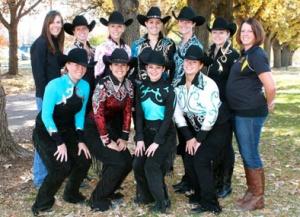 CU Equestrian Western Team